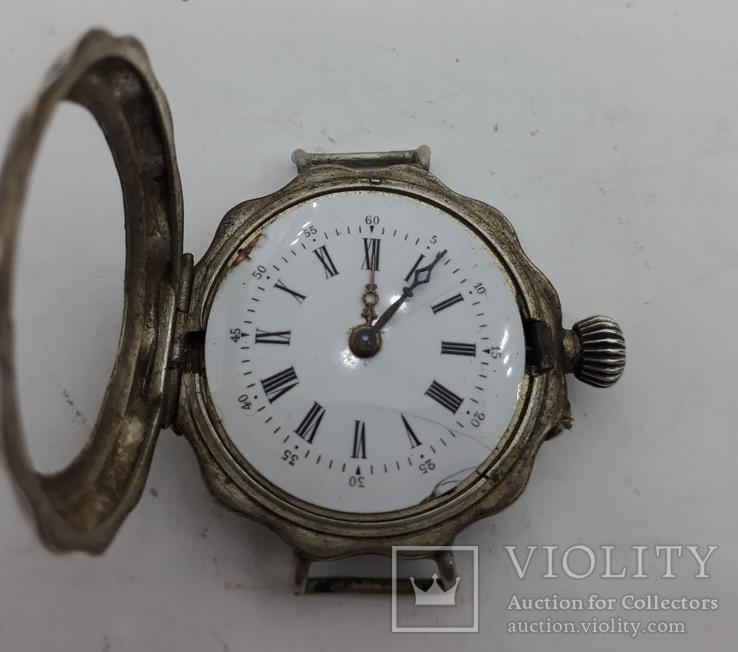Часы наручные женские серебро., фото №3