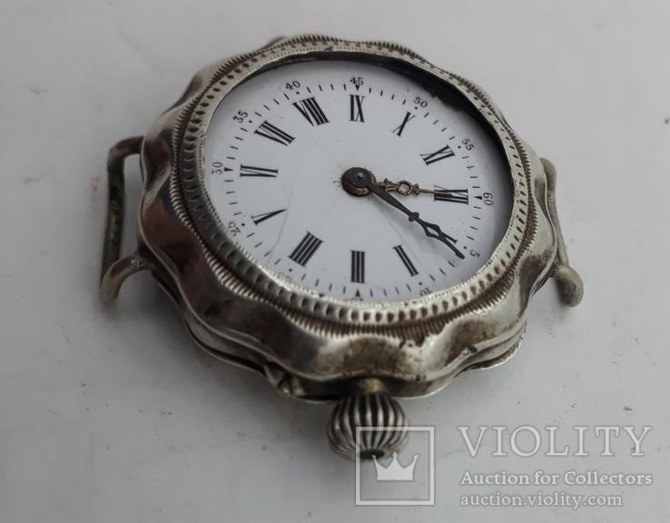 Часы наручные женские серебро., фото №4