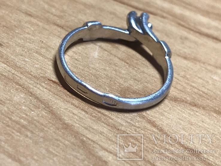 Кольцо женское, фото №5