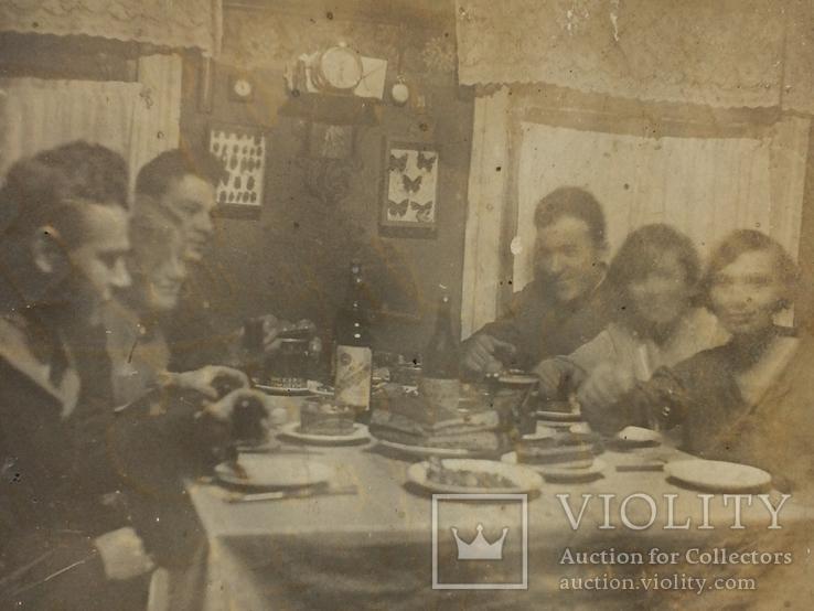 За обеденным столом 1935 г, фото №3