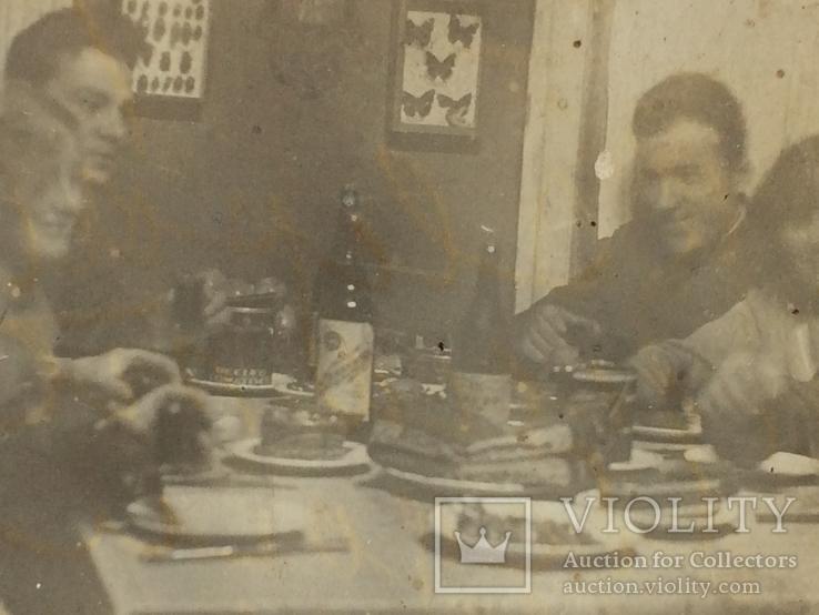 За обеденным столом 1935 г, фото №4
