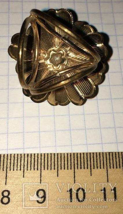 Кольцо, зажим для шарфа – Цветок + бонус, фото №9