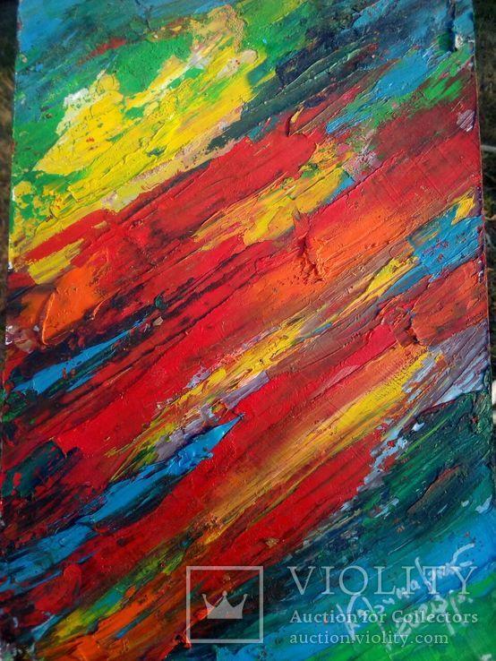 Абстракция, картина маслом., фото №2