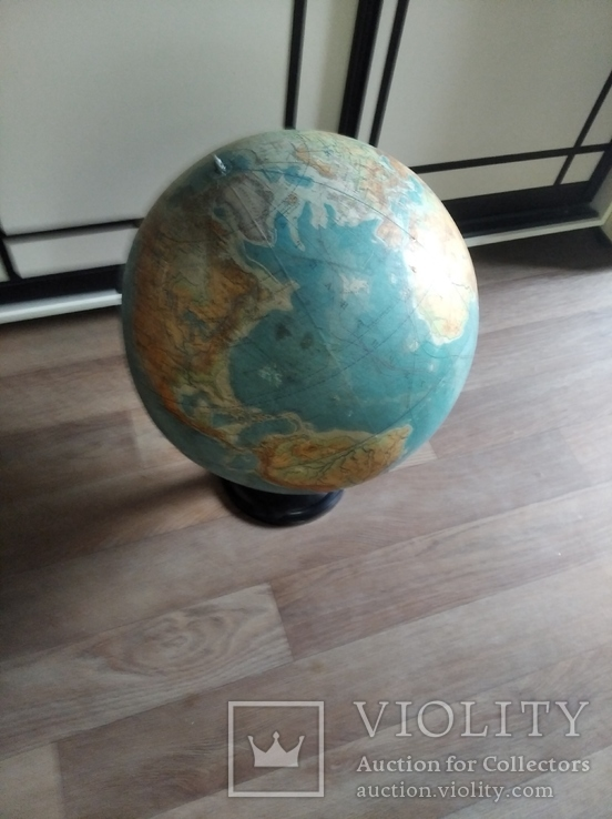 Большой глобус СССР, фото №5