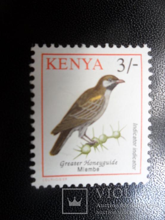 Фауна. Птицы. Кения. MNH, фото №2