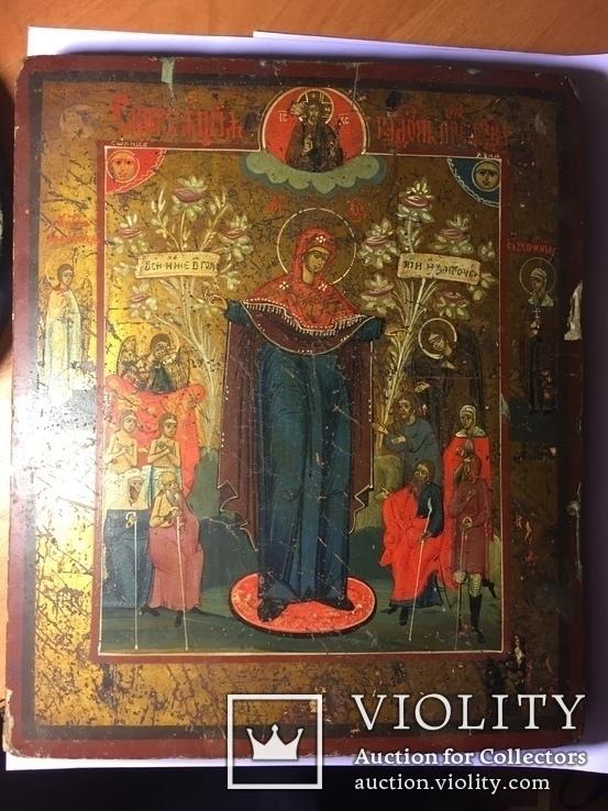 Икона Богородицы Всем Скорбящим Радость, фото №2