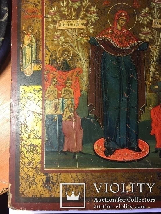 Икона Богородицы Всем Скорбящим Радость, фото №3