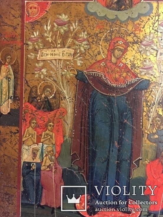 Икона Богородицы Всем Скорбящим Радость, фото №13
