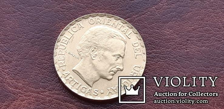5 песо 1930 г. Уругвай 100 лет Конституції, фото №6