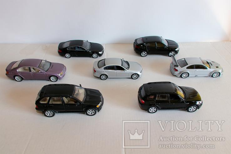 Модели BMW масштаб 1:43, фото №2