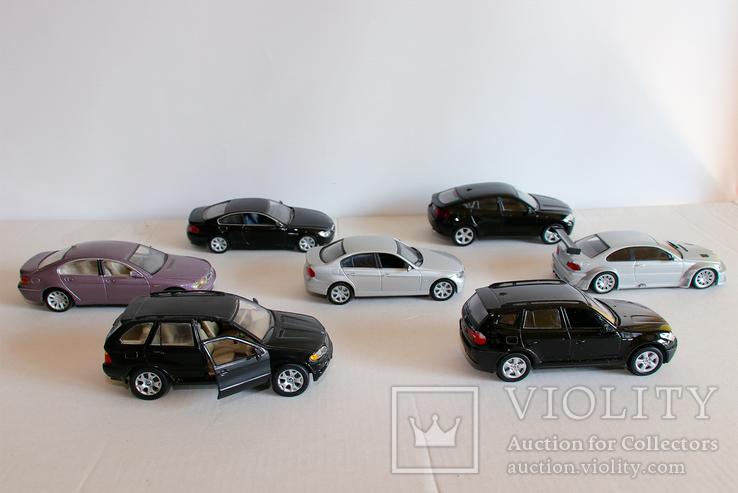 Модели BMW масштаб 1:43, фото №3