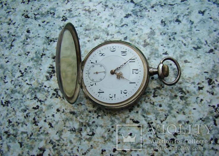 Часы карманные Швейцария SEELANDS 1900 г. серебро НА ХОДУ, фото №2