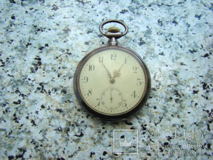 Часы карманные Швейцария SEELANDS 1900 г. серебро НА ХОДУ, фото №3