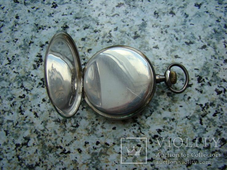 Часы карманные Швейцария SEELANDS 1900 г. серебро НА ХОДУ, фото №5