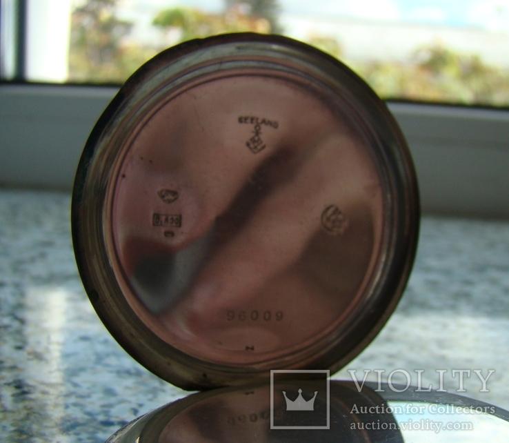 Часы карманные Швейцария SEELANDS 1900 г. серебро НА ХОДУ, фото №6