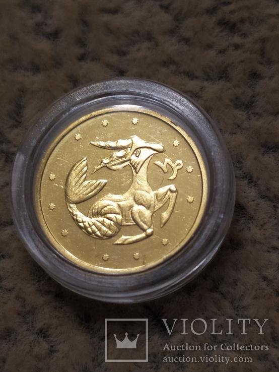 2 гривны 2007г Козерог., фото №2