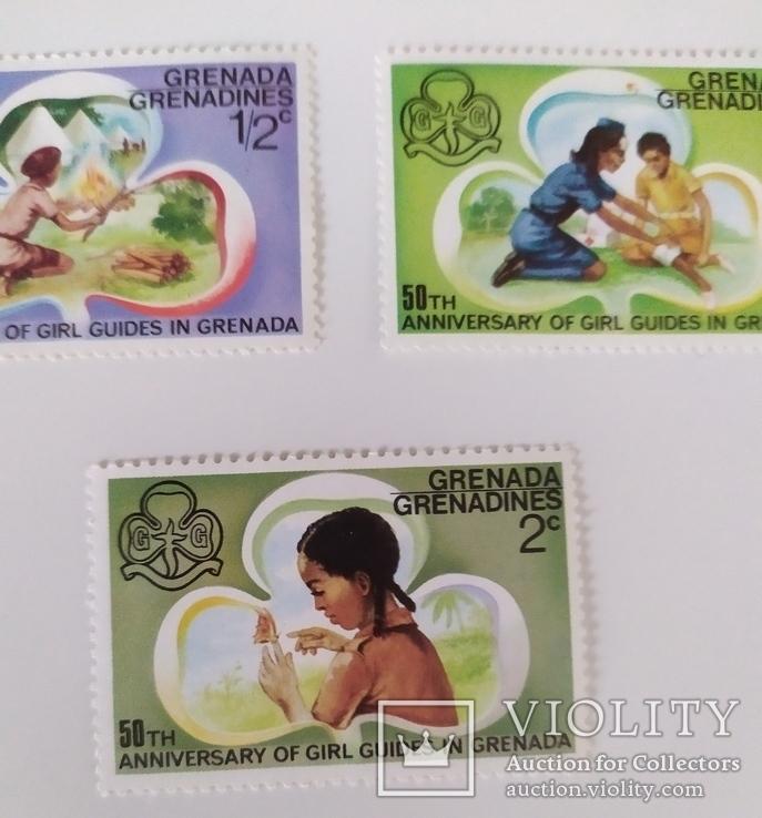 Марки Гренади 1976, фото №5