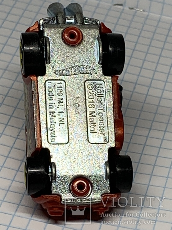 2016 Hot Wheels  Roller Toaster, фото №7