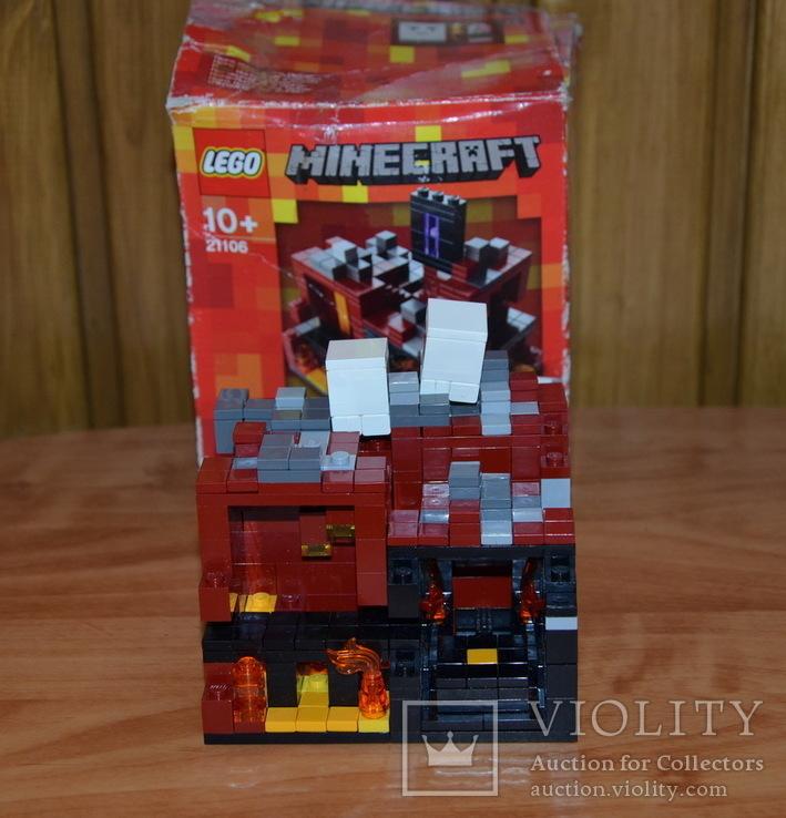 Lego 21106 Minecraft, фото №4