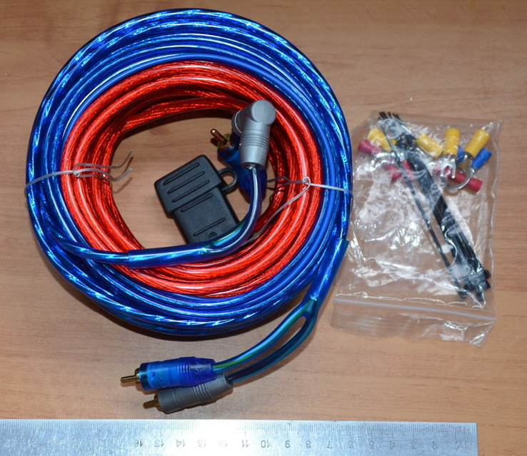 Комплект аудио  проводов в авто, фото №5