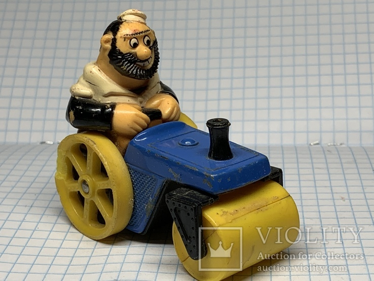 Matchbox  bluto's road roller character series No. 14 1980 LESNEY  product