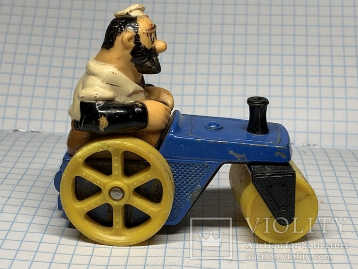 Matchbox  bluto's road roller character series No. 14 1980 LESNEY  product, фото №3