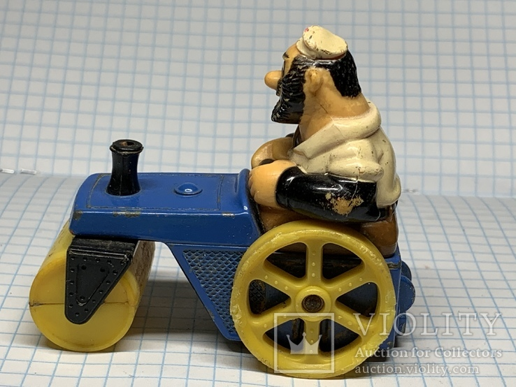 Matchbox  bluto's road roller character series No. 14 1980 LESNEY  product, фото №4