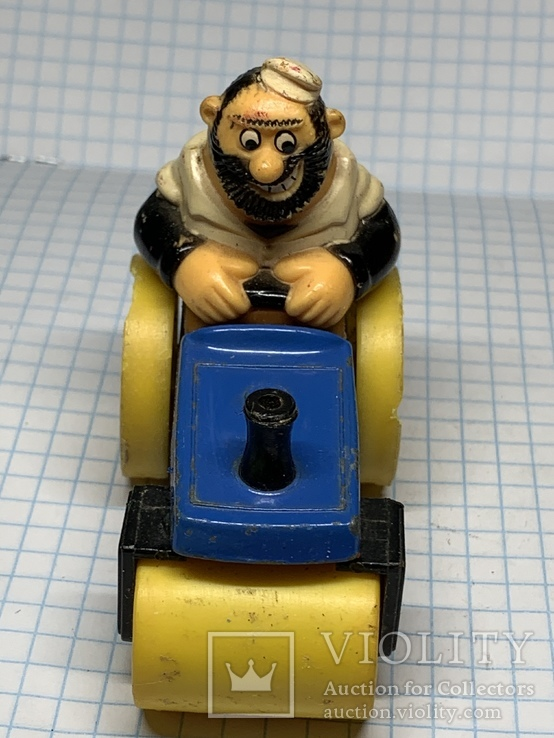 Matchbox  bluto's road roller character series No. 14 1980 LESNEY  product, фото №5