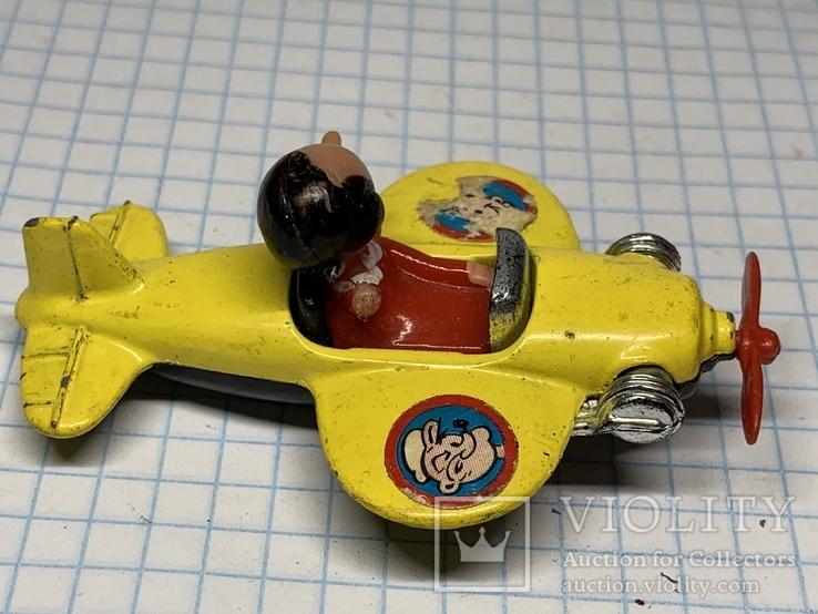 Corgi Juniors Olive Oyl Plane Made in Gt Britain, фото №4