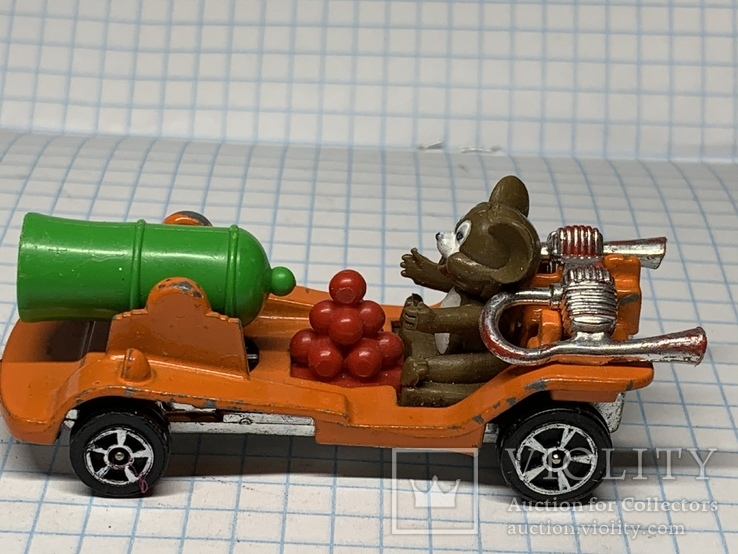 Corgi 1940 Tom And Jerry Car  (B66) Made in Gt Britain, фото №4