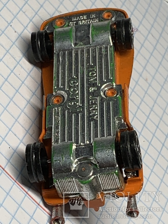 Corgi 1940 Tom And Jerry Car  (B66) Made in Gt Britain, фото №7