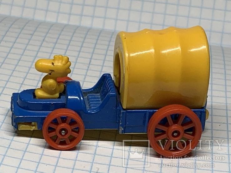 Aviva Peanuts Woodstock In Covered Wagon  Diecast Car (E28) 1972, фото №4