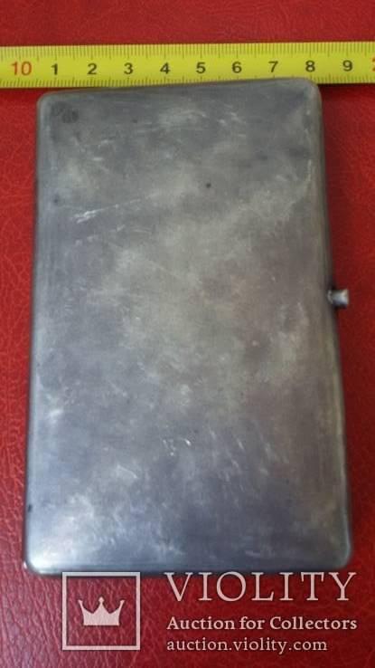 Портсигар в серебре  84 пробы, фото №7