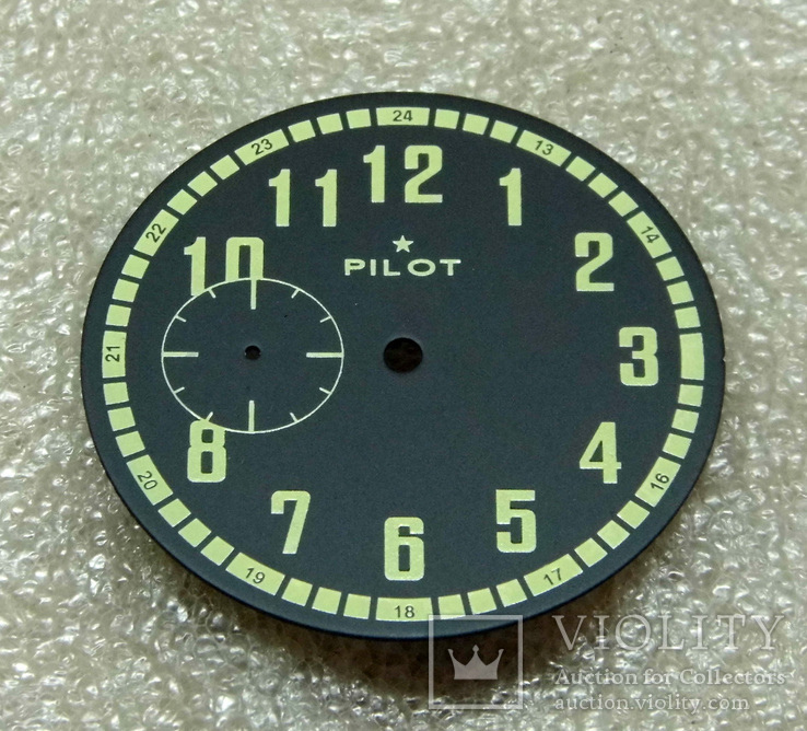 Циферблат на часы молния 43мм, фото №2