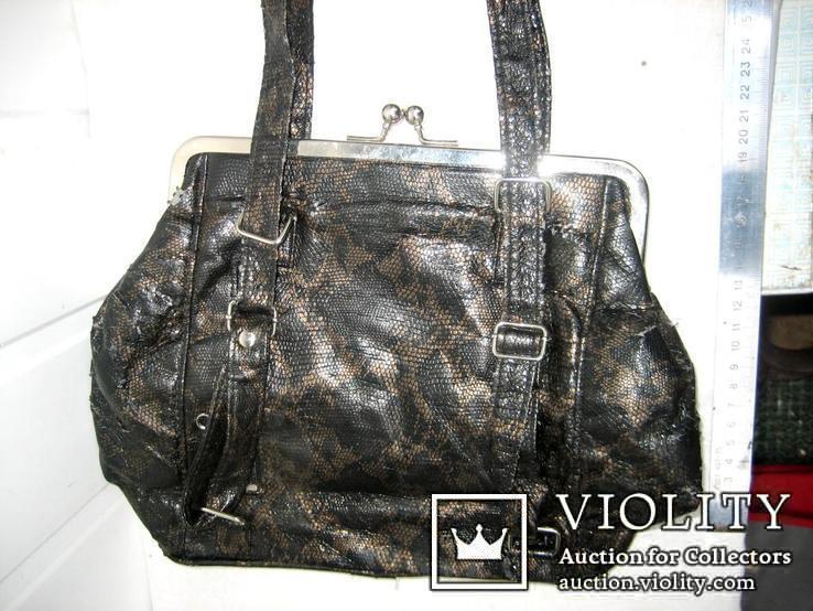 Жіноча сумочка із СРСР , б\в, фото №2