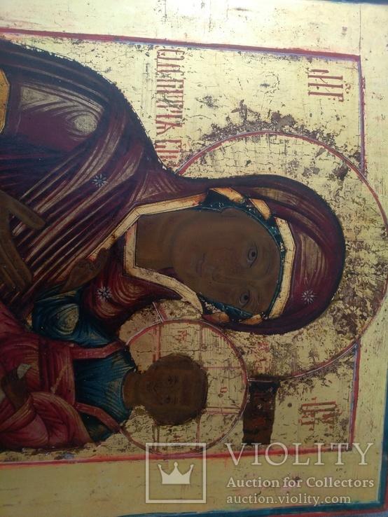 Икона Богоматерь Одигитрия. Конец 18-нач 19 в., фото №7