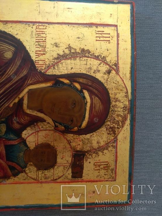 Икона Богоматерь Одигитрия. Конец 18-нач 19 в., фото №9