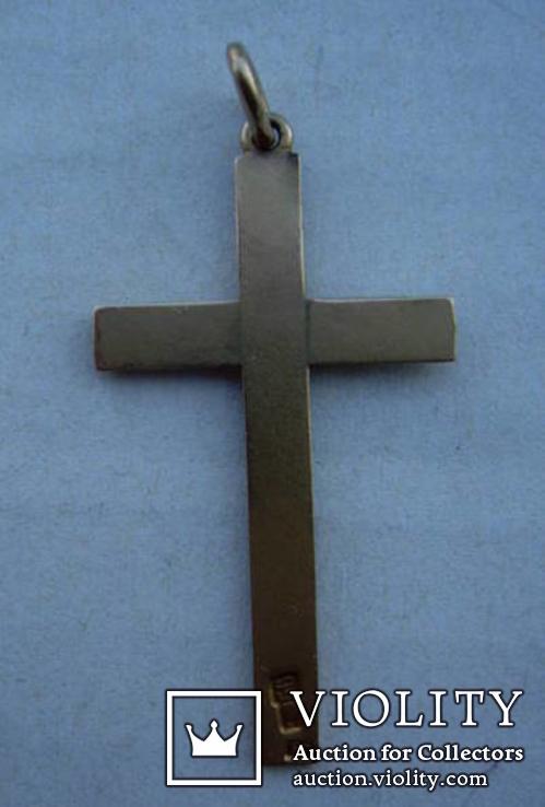 Крестик нательный,56 проба, фото №2