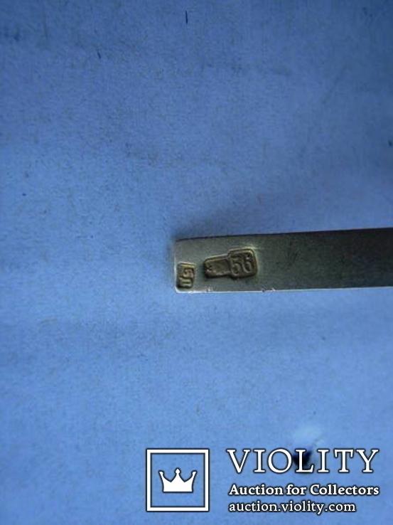 Крестик нательный,56 проба, фото №4