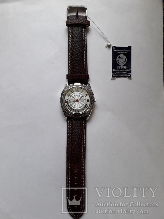 """Годинник """"Брюс"""" срібло 925 проба, фото №2"""