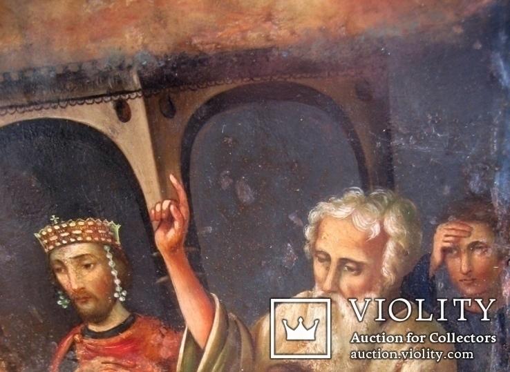 Старовинна ікона Покрови Пр. Богородиці, фото №4