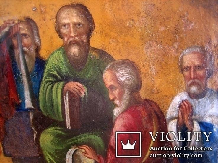 Старовинна ікона Покрови Пр. Богородиці, фото №9