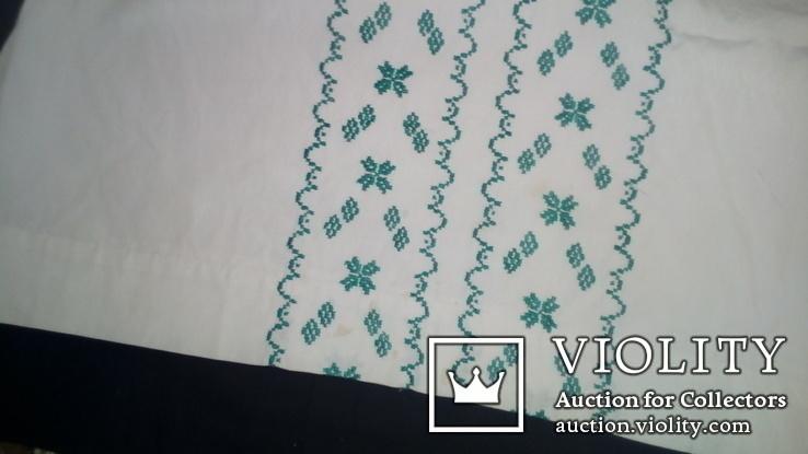 Блузка, вышитая крестиком. Ручная работа, фото №3