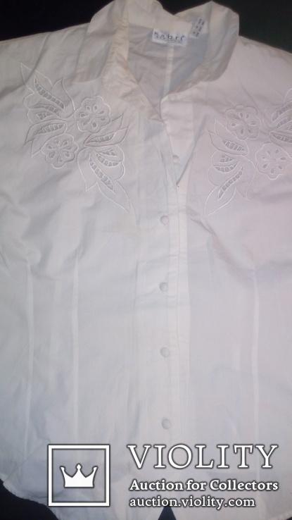 Блузка с гаптовкой(машинной ), фото №2