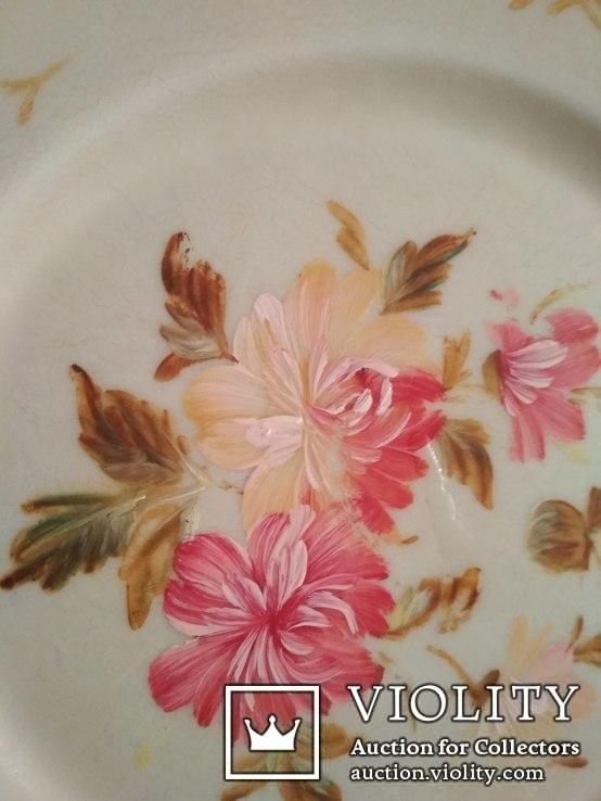 Декоративные тарелки ( 2 шт . )  колкий пластик, фото №4