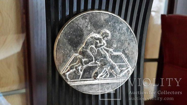 """Настольный сувенир СССР """"Спорт борьба"""", фото №5"""