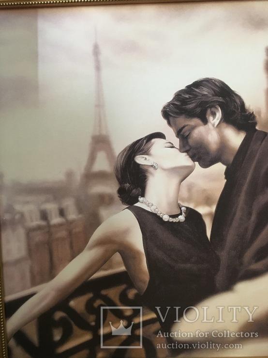 Картина ''Влюбленная пара''. репродукция, фото №4