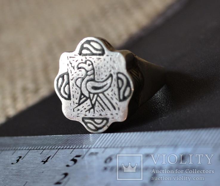 Квадрифолийный перстень, копия, фото №2