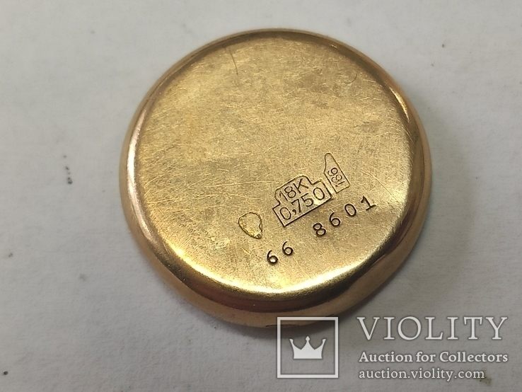 "Часы ""Astin"" золото 750. Швейцария. На ходу., фото №3"