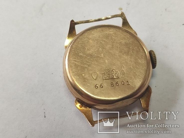 "Часы ""Astin"" золото 750. Швейцария. На ходу., фото №8"